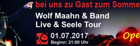 Wolf Maahn & Band Live & Seele Tour in Elsterwerda
